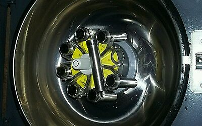 HETTICH BENCHTOP UNIVERSAL 1200 CENTRIFUGE 6239 with 4800RPM rotor 8 15G TUBES