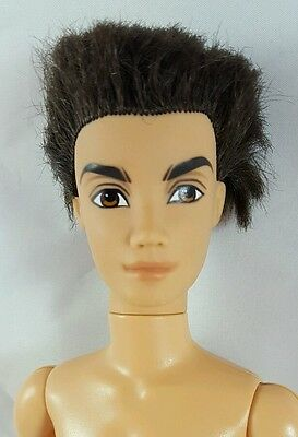 Barbie My Scene River Male Guy Nude Doll Articulated Jointed Rooted Hair