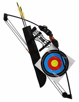 Junior Child Youth Compound Bow - Bow, Arrows, Targets, Armguard and More!