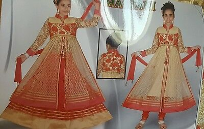 Asian ready made kids salwar kameez size: 24