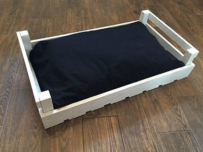 Vintage Handmade Crate Pet Cat Dog Bed Shabby Chic Personalised