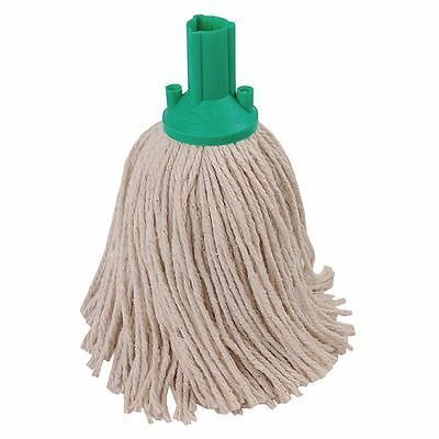 Green 250g Exel Mop Head (Pack of 10) PYGN2510L