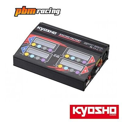 Kyosho Racing Racing Factory Quad Charger 4 x 50w 6 Amp LiPo + NiMH AC/DC 36305
