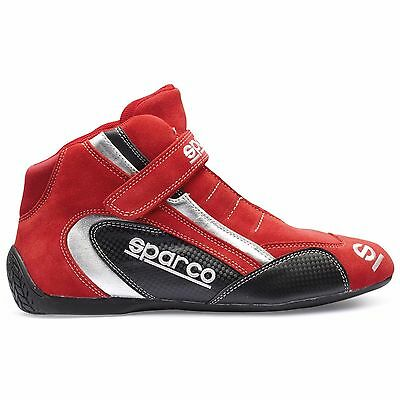 Pair of New Childrens Sparco K Formula Kart Boots UK 3.5 EU 36 Red