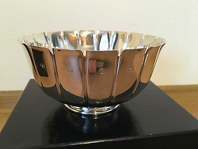 Mappin & Webb Sterling silver Rose bowl MILLENNIUM HALLMARKED