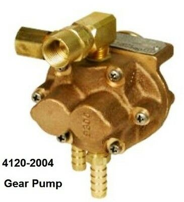 Water Cooler Pump Dynaflux Tweco Gear Type #4120-2004 Dynaflux P1110