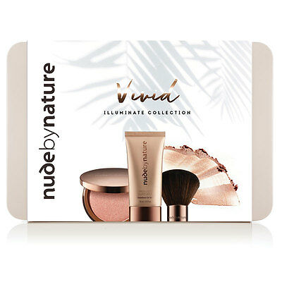 Nude by Nature Xmas 2016 Vivid Mini Illuminate Kit