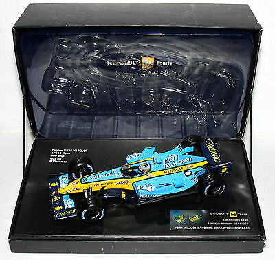 Rare Renault F1 Team Limited Edition 0018/1000 R25 Formula One Championship 2005