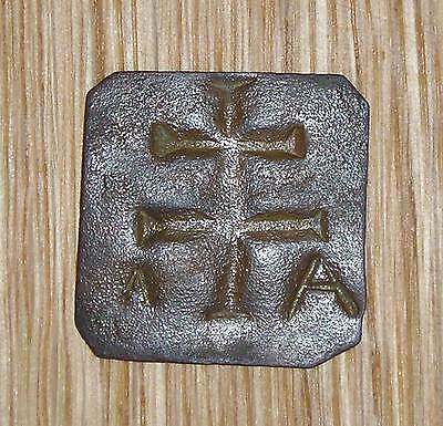 Medieval German 17th / 18th Century copper church token for homeless people