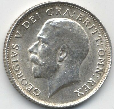 1914 George V Silver Sixpence***Collectors***UNC***