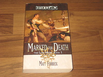 Eberron Novel The Lost Mark, Book 1 Marked for Death WotC 2005