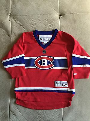 NHL Montreal Canadians Reebok Children's Jersey