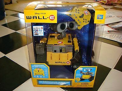 Toys R Us Disney Pixar Huge U Command Wall E Rc Robot Brand New Mint N Sealed