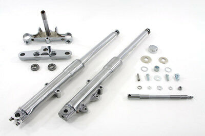 V-Twin 24-9951 - 41mm Fork Assembly with Polished Sliders