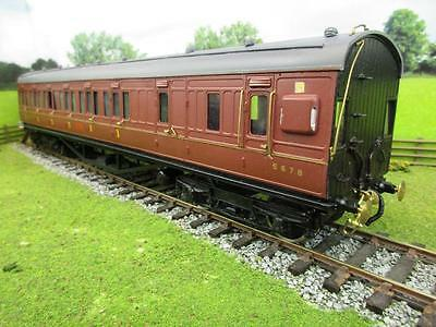 7mm FINESCALE O GAUGE KIT BUILT LMS SUBURBAN 2ND/3RD CLASS COACH, '8901'