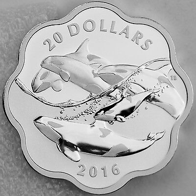 Canada 2017 EXCLUSIVE Masters Club Coin Series #2 – 99.99% Pure Silver Orca