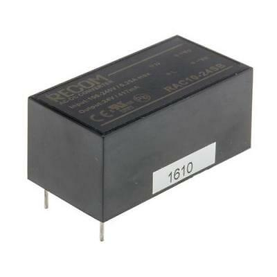 1 x Recom 10W, 1 Output, Embedded Switch Mode Power Supply RAC10-24SB, 24V dc