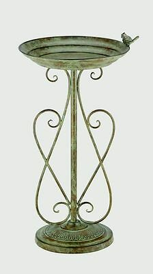 Antique Verdigris Bird Bath by Chapelwood  GREAT CHRISTMAS GIFT IDEA!