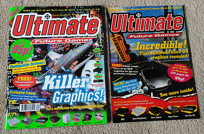 Ultimate Future Games Magazine Issue 1 + Sample Issue (1994, Future Publishing)