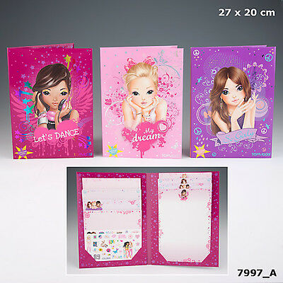 New Top Model Scented Letter Writing Set