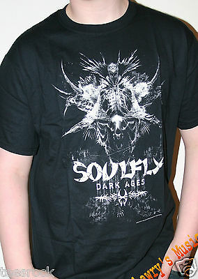 Soulfly Rock T Shirts in size Medium only