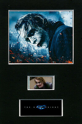 Mounted Film Cells - The Dark Knight - The Joker movie memorabilia collectable