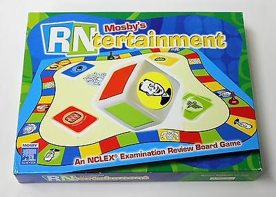 MOSBYS RNTERTAINMENT Board Game for NCLEX Study Nursing Review