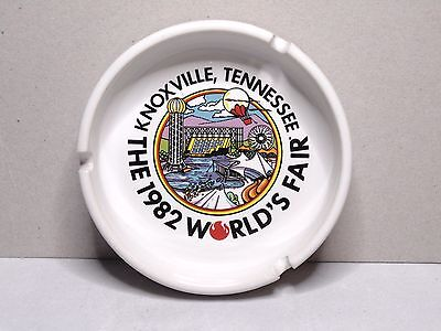 Vintage 1982 World's Fair Knoxville Tennessee Ashtray