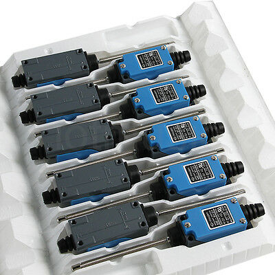 Micro Limit Switch with Flexible Coil Spring Actuator Enclosed ME-9101 10 Pcs