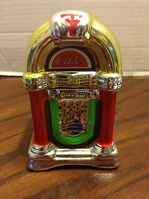 "COCA- COLA SALT & PEPPER SHAKERS "" ROCK n ROLL"" JUKE BOX"