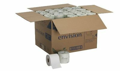 New Georgia-Pacific Envision 80 Roll Paper 2-Ply Bathroom Embossed White Tissue