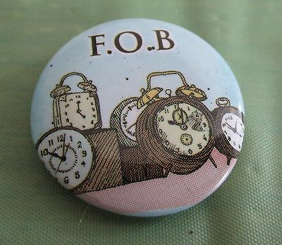 Fall Out Boy F.O.B. Pin Button Badge Rock Music Band