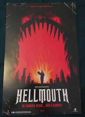 Hell Mouth / Septic Man Double-sided Movie Promo Poster Fan Expo 2013