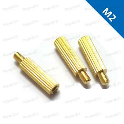 M2 Male-Female Brass Threaded Column Standoff Support Spacer for Camera