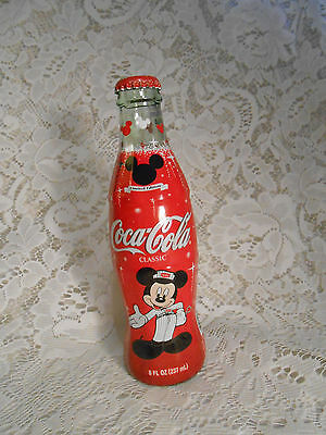 Coca Cola Mickey Mouse Classic unopened bottle 2003