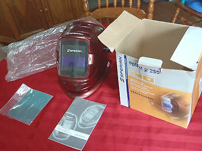 welding helmet sperian optrel p 250 red