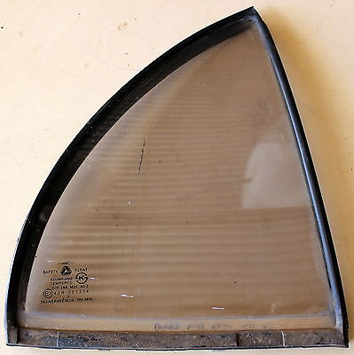 Hyundai Excel X3 Sedan 4D Right Side Rear Quarter Window Glass With Rubber Seal