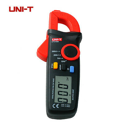 Uni T Ut210a 200A  Mini Lcd ElectricalMultifunction  Leakage Current Clamp Meter