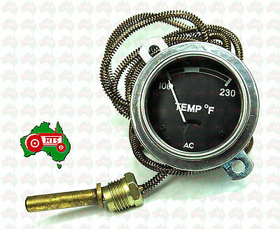 Tractor Mechanical Temp Temperature Gauge Ford Fordson Major