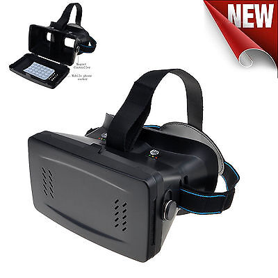 Virtual Reality VR Headset 3D Video Glasses W/ Sucker Google Cardboard for Phone