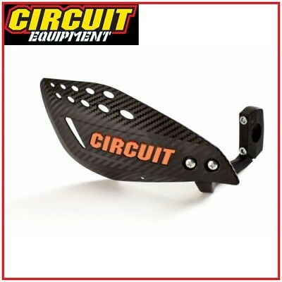 Coppia Paramani Carbon Vector Circuit Arancioni Motard Cross Quad Enduro