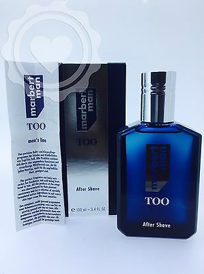 Marbert Man Too After Shave 100Ml Lotion Nuevo
