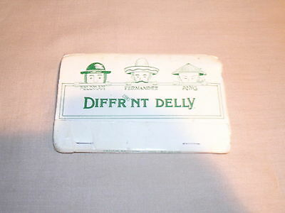 Diffrnt Delly The World's Most Unusual Eatery Beach Haven Crest NJ Matchbook