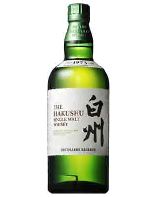 Suntory Hakushu Distiller's Reserve Japanese Single Malt Whisky 700Ml