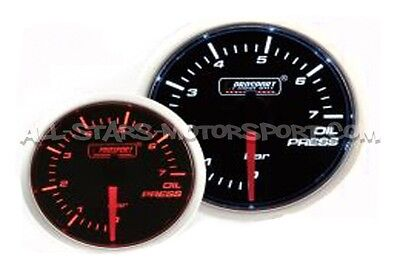 Manometre de pression d'huile Prosport 52mm Oil Pressure Gauge