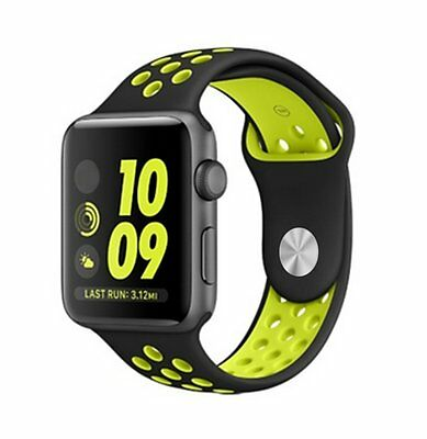 Silicone Sports Watch Band for Apple Watch Series 1/2