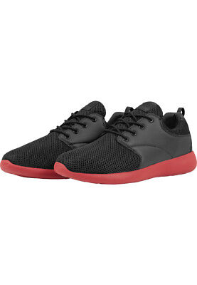 Urban Classics Sneaker Light Runner TB1272 Black Firered