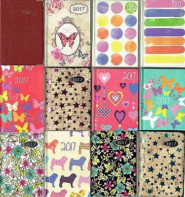 Clearance 2017 Pocket Diaries - Many Designs - Week To View