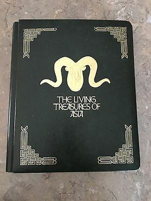 THE LIVING TREASURES OF ASIA 23 KARAT GOLD STAMP Collection Set No. 2932