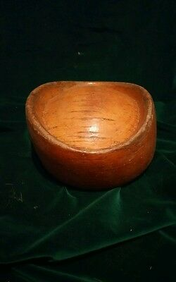Antique Vintage Wooden Hat Cap Millinery Block Wood Form Hat Making Hutform 670